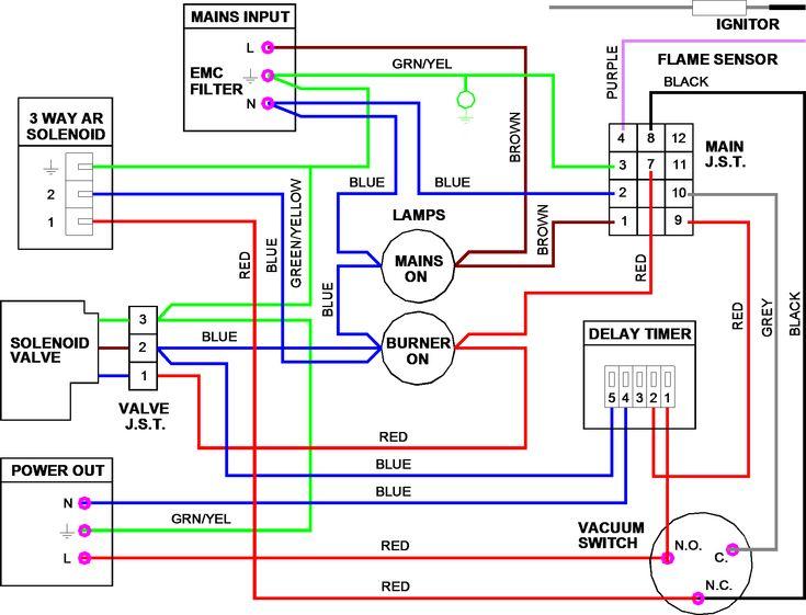 Wiring Diagram For 3 Port Motorised Valve  U2013 Volovets Info