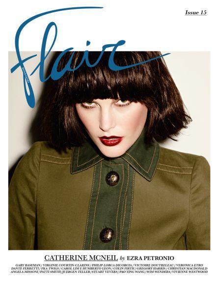 Flair N.15 Models: Cat Mcneil & Niki Trefilova Photographers: Ezra Petronio and Gregory Harrys