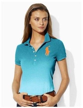 ralph lauren promotion! Polo Ralph Lauren femme de marque double match de Polo Noir lauren1897