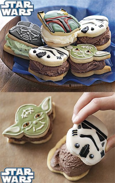 Star Wars Cookie Cutter - Fun Cookies with Yummy Ice Cream