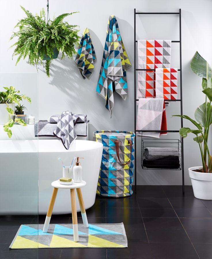 Colour pop Kmart bathroom Styling: Jess Barnes
