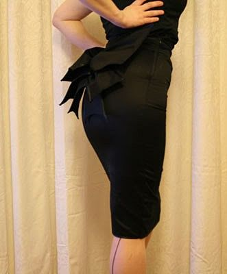 pin up pencil skirt with large bow. // $80.24