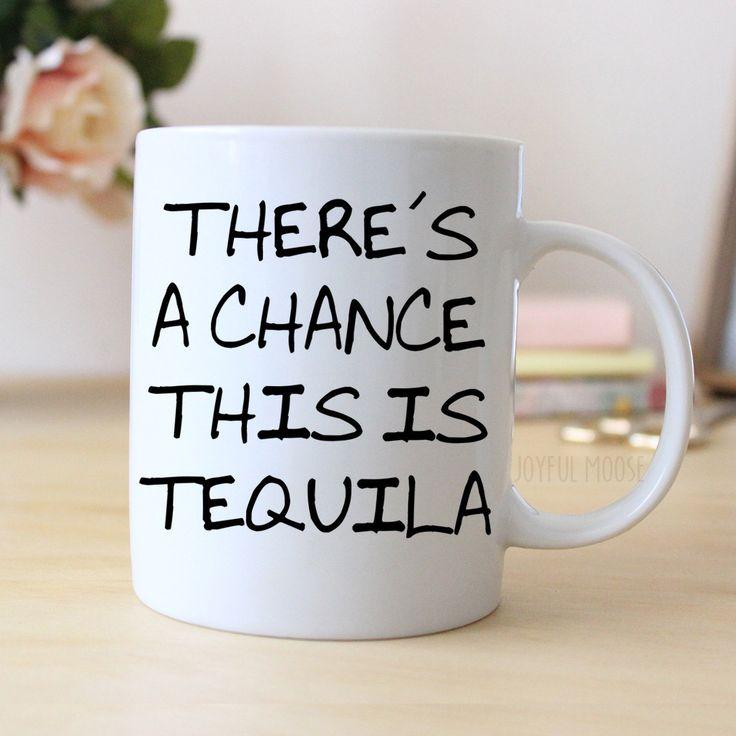 New to JoyfulMoose on Etsy: Funny Coffee Mug - Funny Tequila Gift - Funny Saying Coffee Mug (14.00 USD)