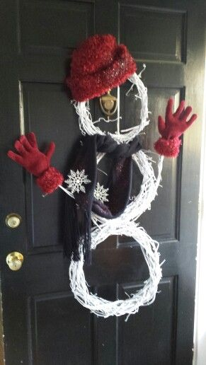 Best 25 Snowman Wreath Ideas On Pinterest Snowman