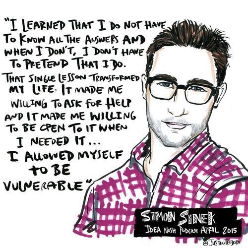 Simon Sinek... dare to be authentic!
