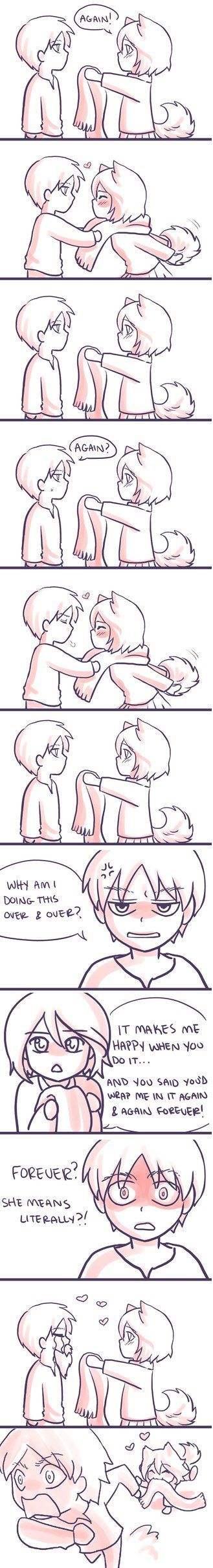 Eren and Mikasa ~ Again by ChibiStarChan
