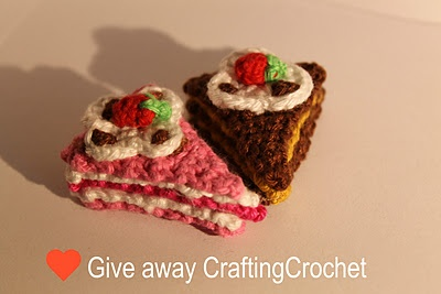Give-away at my blog  : http://www.craftingcrochet.blogspot.com