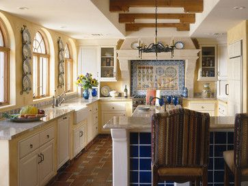 spanish colonial kitchen design ideas pictures remodel and decor - Colonial Kitchen Ideas