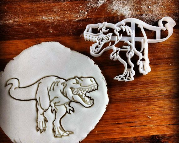 T-Rex Dinosaur cookie cutter | biscuit cutter | Tyrannosaurus rex | dinosaurs | one of a kind ooak children
