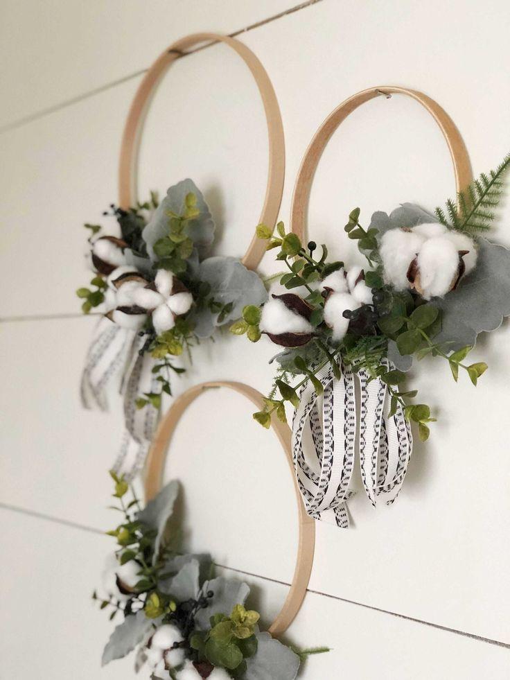 Elegant Hobby Lobby Farmhouse Kitchen Decor Diy Wreath Handmade Home Decor Embroidery Hoop Crafts