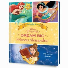 Disney's Dream Big, Princess: Belle's Special Edition Personalized Book | Put Me In The Story