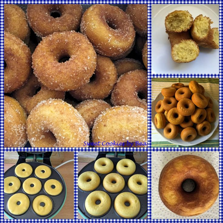 Sweet Cookies by Bea: Rosquillas fritas no fritas