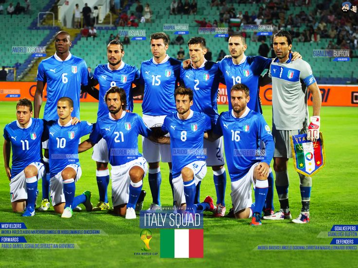 Italy Squad FIFA World Cup 2014