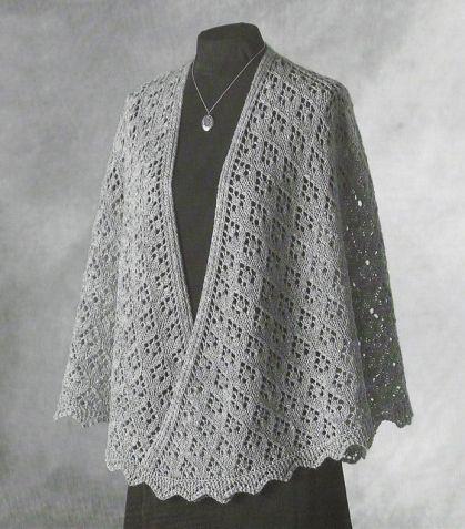 Красота для любителей шалей / Вязание спицами / Вязание для женщин спицами. Схемы