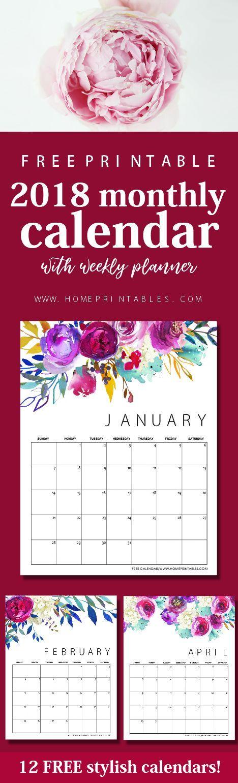 Best  Calendar Printable Images On   Free