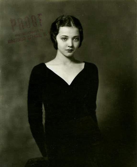 :::::::::: Vintage Photograph ::::::::::  Woman in black