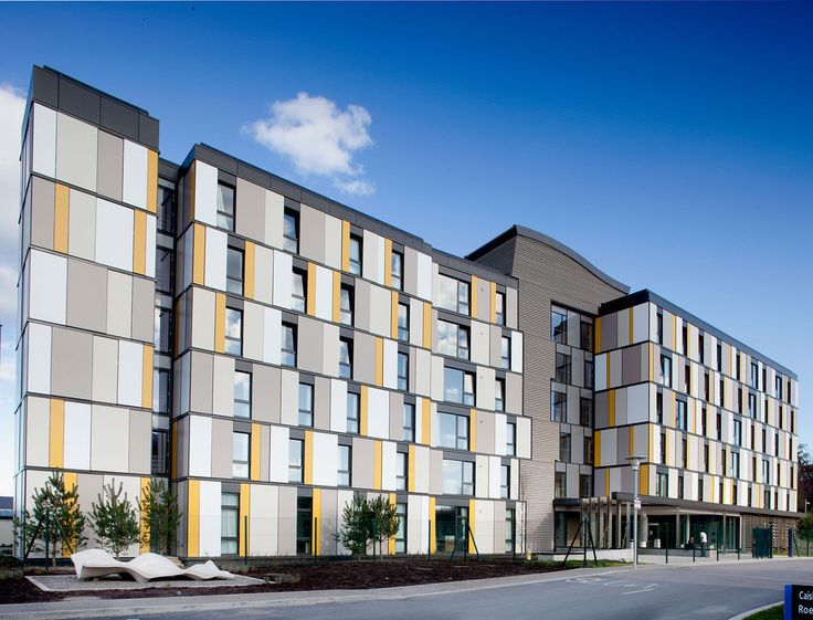 Roebuck Castle Student Residence Ucd Kavanagh Tuite Architects