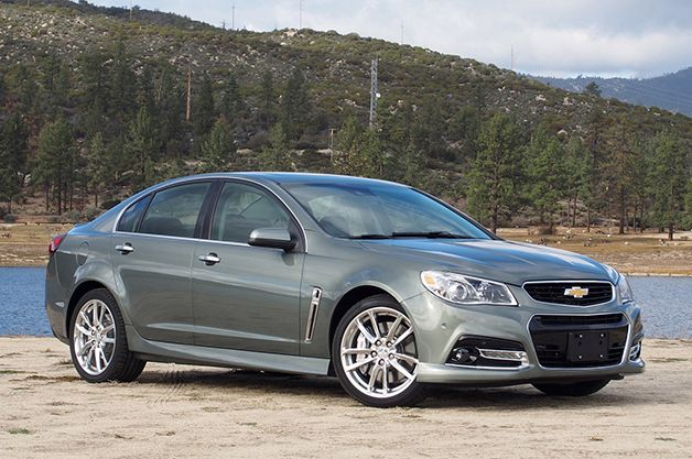Next Chevy SS to be Built Here and Sent to Australia as the Holden Commodore?