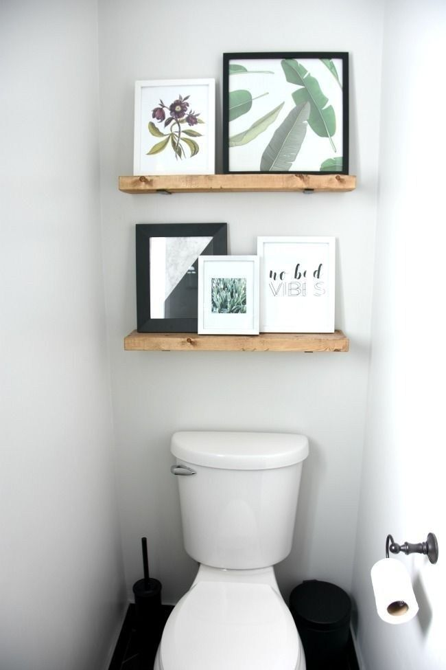51 Diy Shelves That Can You Put In Small Apartment Toilet