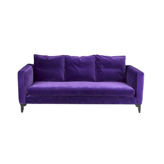 17 Best Images About Purple Sofas And Couches On Pinterest Beds Uk Velvet And Modern Sofa
