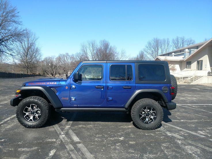 OCEAN BLUE Wrangler JL Club Page 25 2018+ Jeep