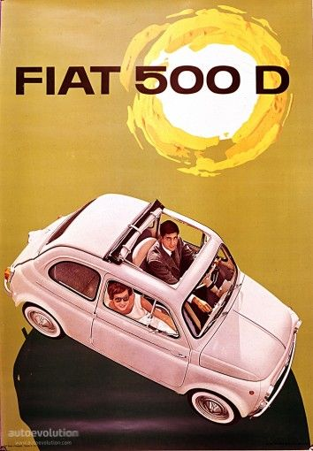 FIAT 500 D - I had two of these at different times, one lhd and one rhd.