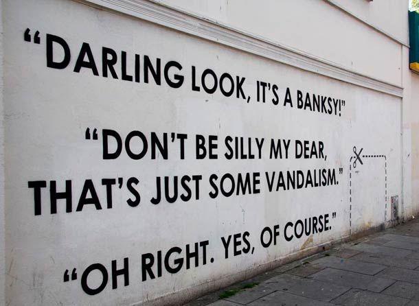 #Ironie #Street Art #MOBSTR
