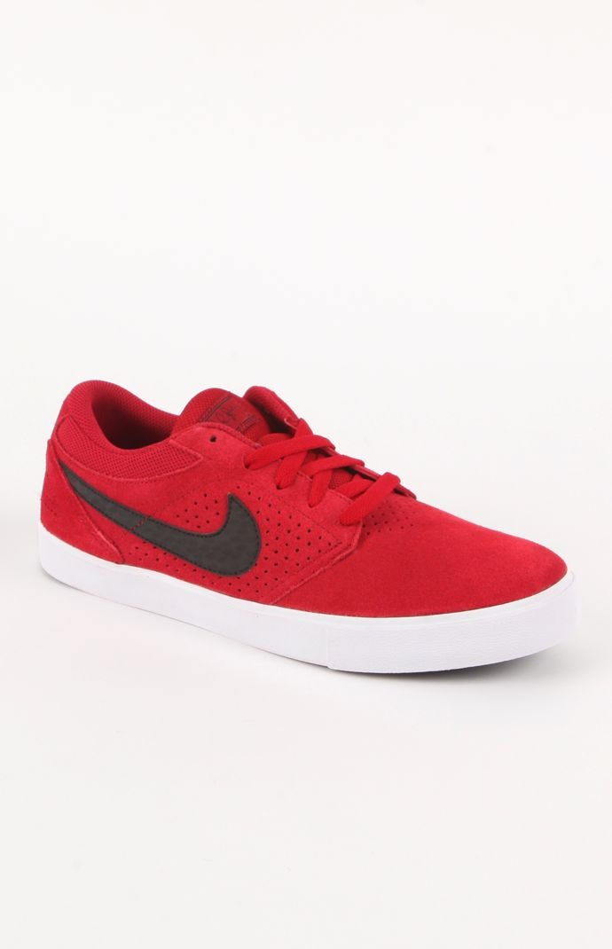 Mens Nike Shoes - Nike Paul Rodriguez 5 Lr Red Shoes
