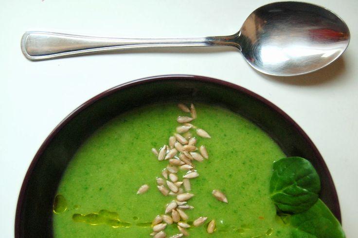 Mery cook me :): Dietetyczny krem z brokuła i szpinaku