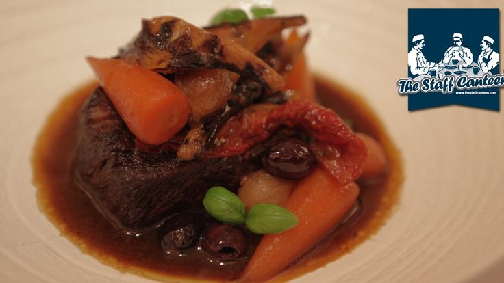 Michelin star chef Eric Chavot cooks braised beef Provençal