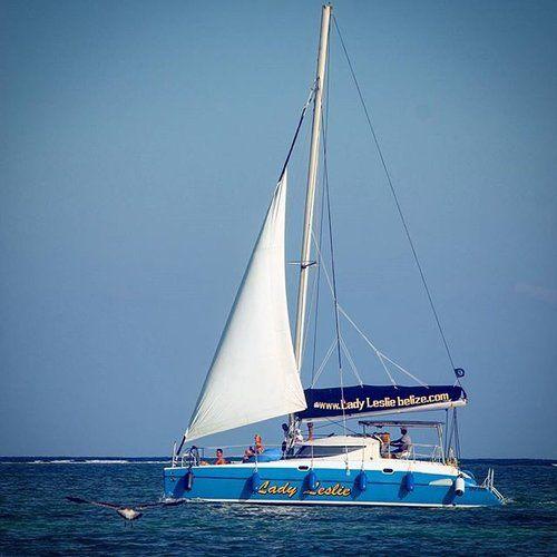 Sailing the Belize Barrier Reef....How do you like to roll? #Belize #travel #sailing #sailboat #sail #traveltuesday #belizebarrierreef #reef #caribbean #vacation #caribbeanvacation #travelbelize #bucketlist #wanderlust #seagull #ladyleslie #okgobelize #adventure #highsea  #sabrewingtravel #Belizetravelagent #belizevacationpackages