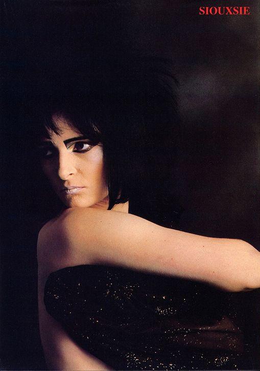 Siouxsie Sioux, 1981.