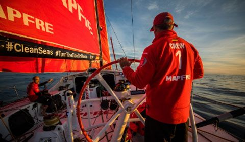 MAPFRE seal overall Leg Zero victory as light winds force shortened course on final stage