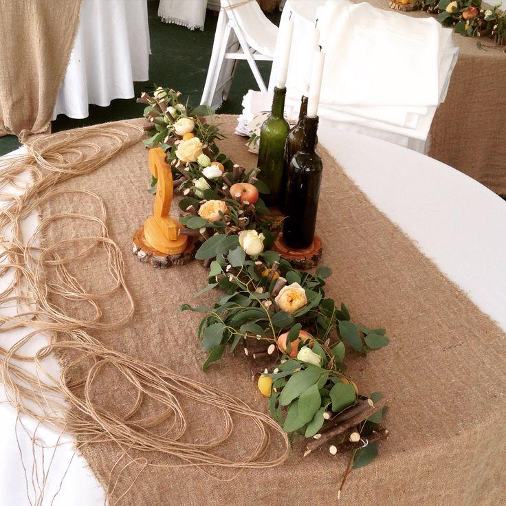 Необыкновенная свадьба на острове в ЭКО-стиле