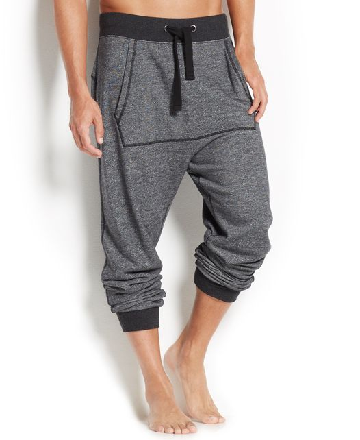2(x)ist Men's Loungewear, Terry Harem-Cut Joggers Men's Fashions
