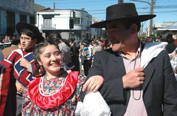 Fiesta popular - Temuco, Chile