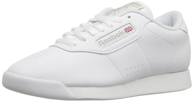 Reebok Women's Princess Sneaker,Black,7 W