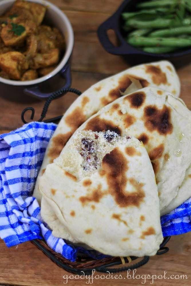 Eat Your Heart Out: Recipe:  Quick & Easy Peshwari Naan (Indian)