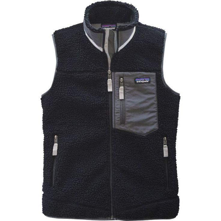 Patagonia Women's Reversible Classic Retro-X Fleece Vest, Size: Medium, Black