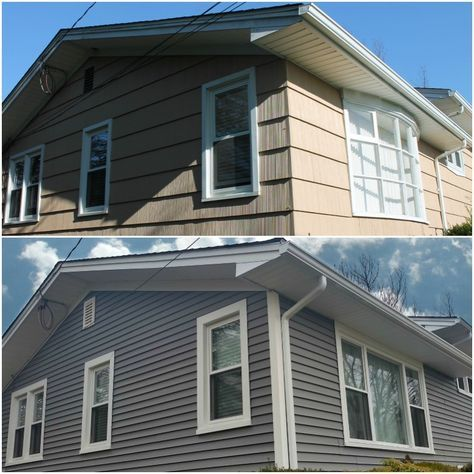 Harvey Windows Mastic Vinyl Siding In New Bedford Ma