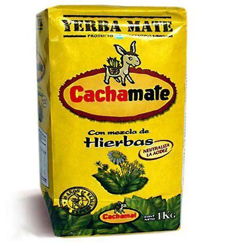 Cachamate Yerba Mate Herbs mix 1000 gr. 1 kilo, $11.65