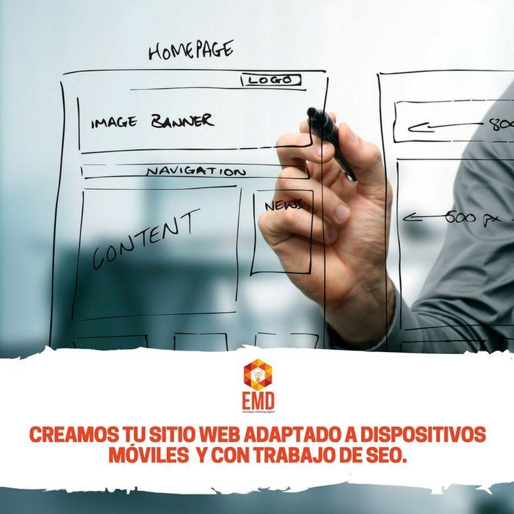 ¿Aún no tienes página web? Dejalo en nuestra manos, somos expertos! #EMD #MarketingDigital #DesarrolloWeb