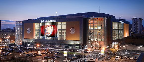 Prudential Center: Newark, NJ  Home of the New Jersey Devils (formerly home to the New Jersey Nets as well)