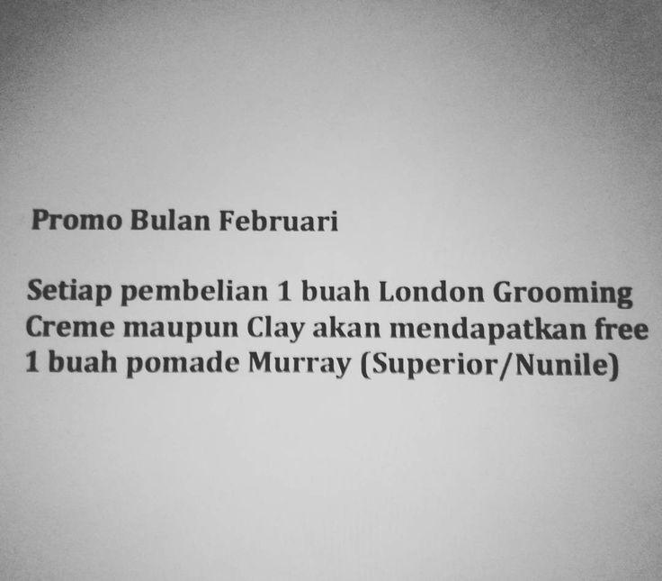 Promo bulan februari gan  #pomadeindo #pomadeindonesia #pomade #jualpomade #pomademurah #pompadour #hairpomade #hairbond #hanzdefuko #suavecito #byvilain #murray #indonesia #uppercut #blumaan #medan #surabaya #jakarta #bandung #makassar #palembang #semarang #waterbased #oilbased #hairstyle #barber http://ift.tt/2lncUaD