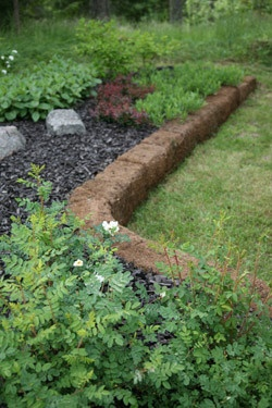 Peat Blocks are durable natural components for creating different features and details in the home garden. The product has a variety of uses from Japanese-style moss gardens to traditional kitchen gardens. (Quite popular in Finland, because it is SO easy to use)