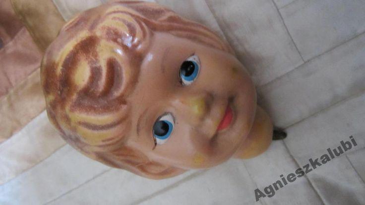 Stara głowa lalki celuloid, Mark -???