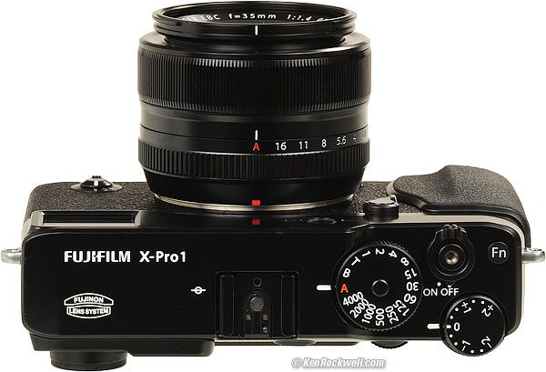 Rockwell review of Fuji X Pro 1