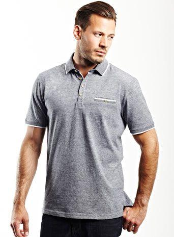 Bhs  Jack Reid Marylebone Hairline Stripe Polo Shirt  £20.00
