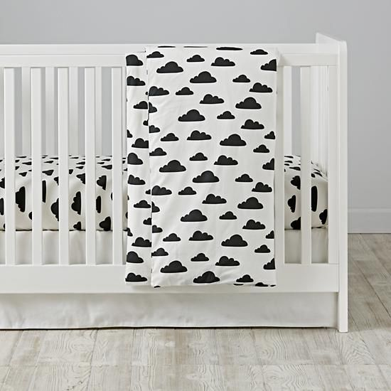 With a Chance of Toddler Duvet Cover  | The Land of Nod