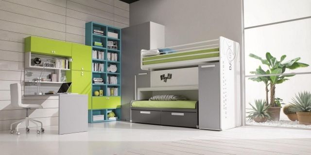 Teen rooms for boys - 33 ideas for modern furniture